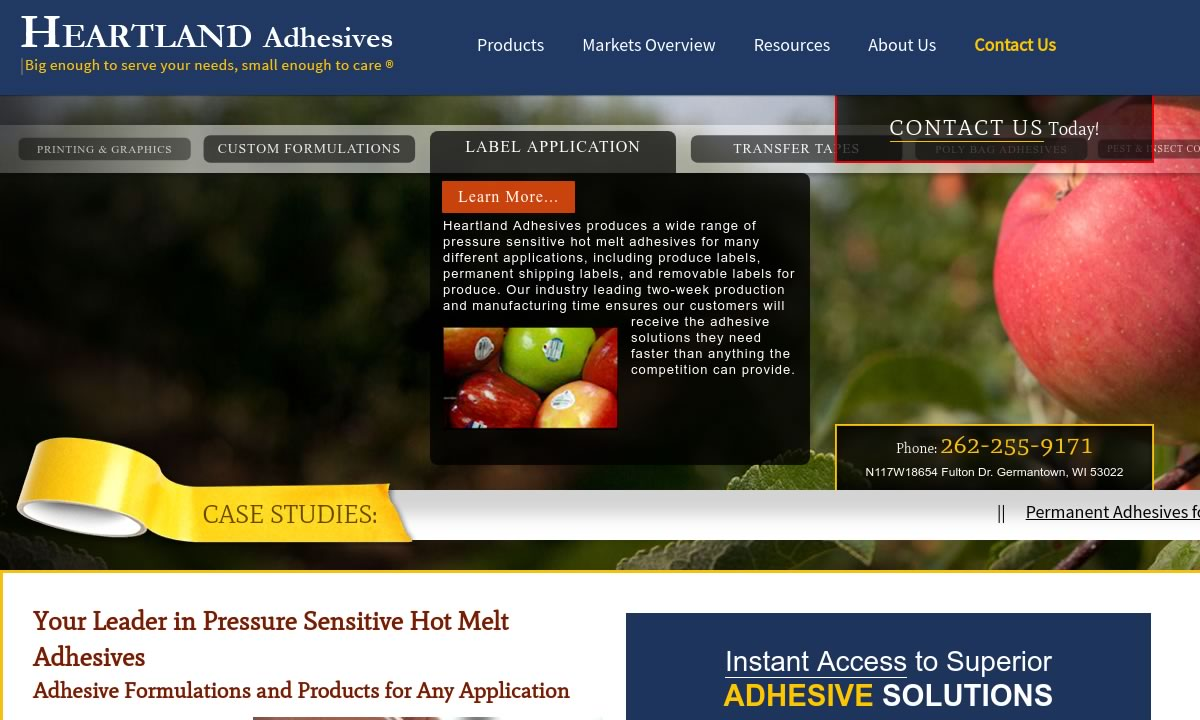More Adhesives Manufacturer Listings