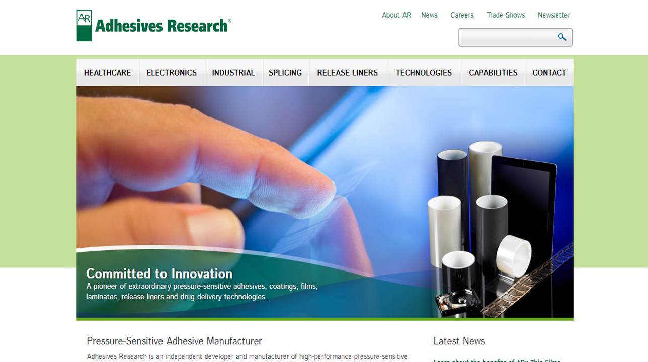 Adhesives Research, Inc.